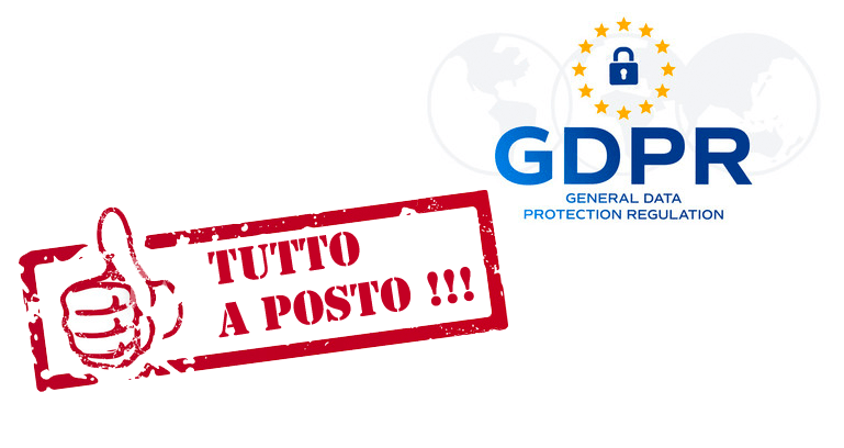 privacy gdpr in regola